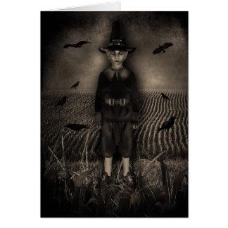 Gothic Corn Children Card