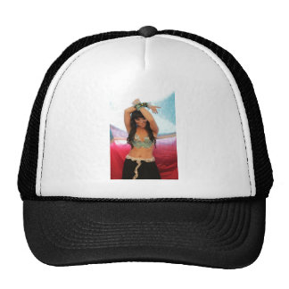 gothic cosplay accessories rave ball cap