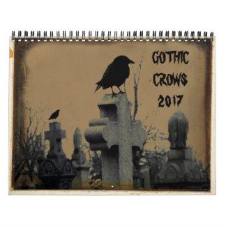 Gothic Crows 2017 Calendar