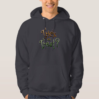 Gothic Curls Trick or Treat Hooded Sweatshirt