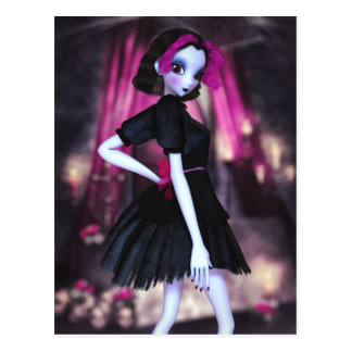 Gothic Cutie Postcard