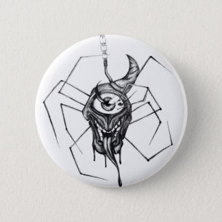 Gothic cyclops spider badge