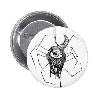 Gothic cyclops spider badge