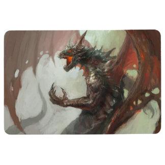 Gothic Dark Dragon Floor Mat