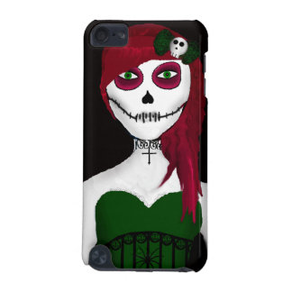 Gothic Day Of The Dead Girl iPod Touch Case