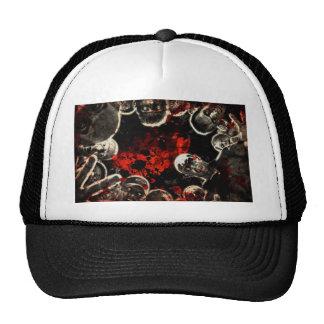 Gothic dead mesh hats
