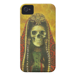Gothic Death Witch iPhone 4 Case-Mate ID