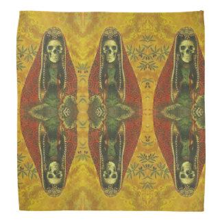 Gothic Decorative Skeleton Design Bandanna