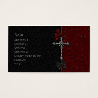 Gothic Design Business Card