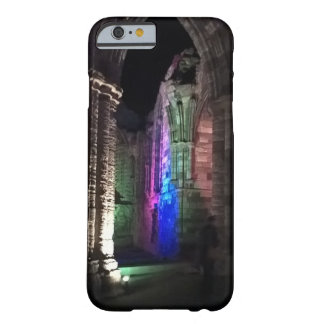 Gothic design illuminated photo of Whitby Abbey Barely There iPhone 6 Case