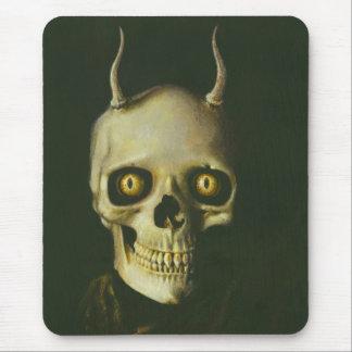 Gothic Devil Skull Mousepad