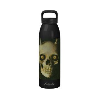 Gothic Devil Skull Water Bottle