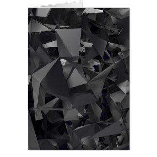 Gothic Dimensional Abstract Greeting Cards