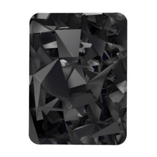Gothic Dimensional Abstract Rectangular Photo Magnet