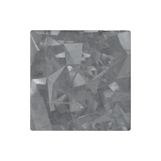 Gothic Dimensional Abstract Stone Magnet