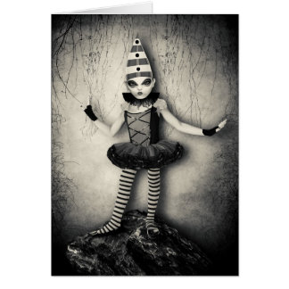 Gothic Doll Greeting Card