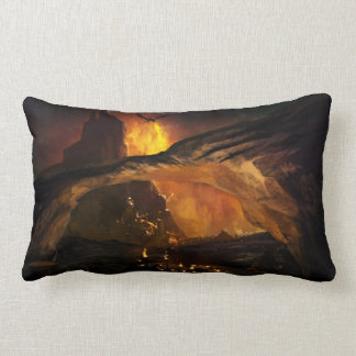 Gothic Dragon Attack Lumbar Pillow