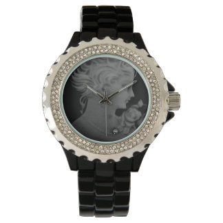 Gothic Elegant Romantic Cameo Wrist Watch