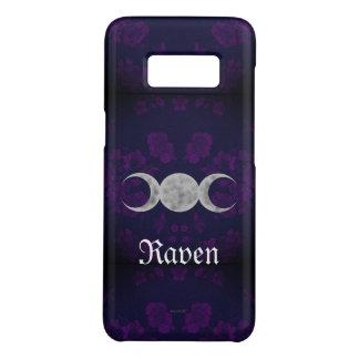 Gothic Eternal Triple Moon Purple Case-Mate Samsung Galaxy S8 Case