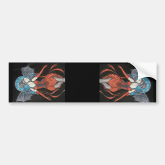 Gothic Fairies x 2 Bumper Sticker