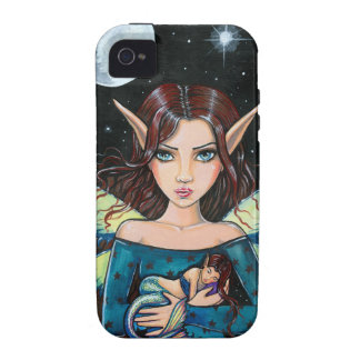 Gothic Fairy and Mermaid Art by Molly Harrison iPhone 4/4S Covers