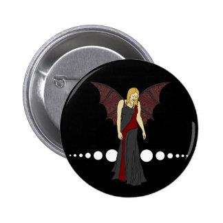 Gothic Fairy, button