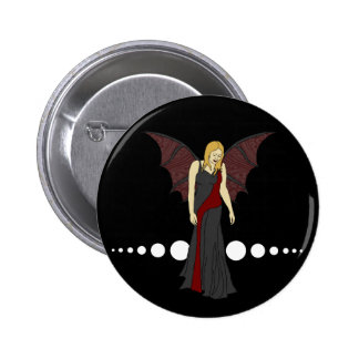 Gothic Fairy, button