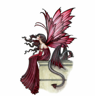 Gothic Fairy Dragon Photo Sculpture