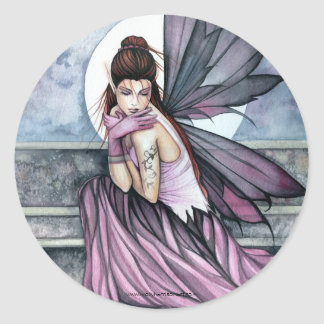 Gothic Fairy Fantasy Sticker by Molly Harrison