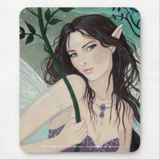 Gothic Fairy Mousepad by Molly Harrison