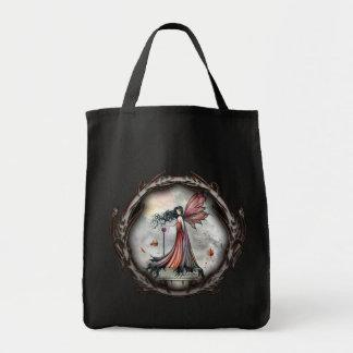 Gothic Fairy Vampire Autumn Tote Bag