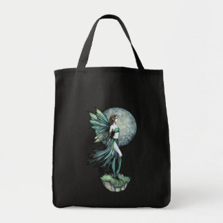 Gothic Fantasy Fairy Tote Bag by Molly Harrison