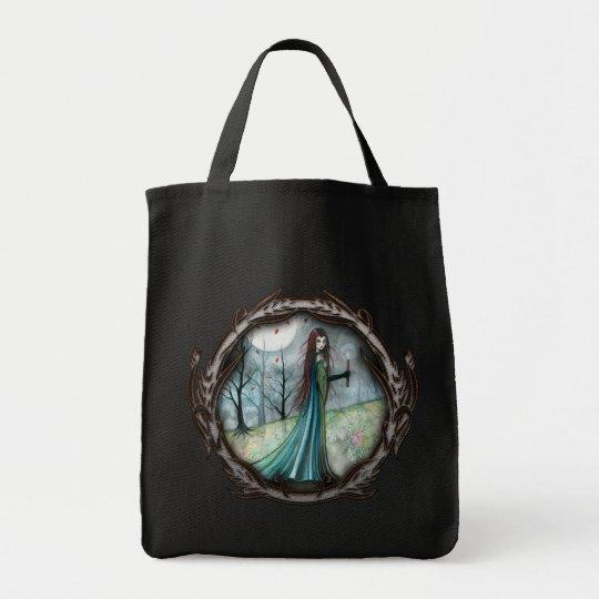 Gothic Fantasy Vampire Tote Bag