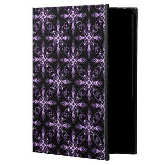 Gothic Floral Black and Purple Fractal Art Powis iPad Air 2 Case