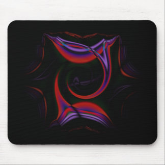 Gothic Fractals First Kiss Mouse Pad