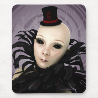 Gothic Galactic Glamour Alien Mousepad
