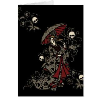 Gothic Geisha Card