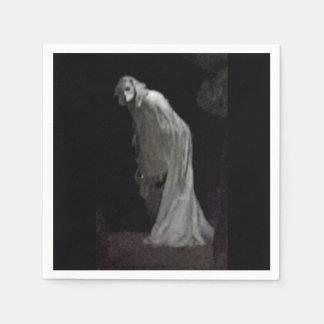 Gothic ghost disposable serviette