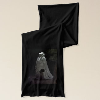 Gothic ghost & ghoul scarf