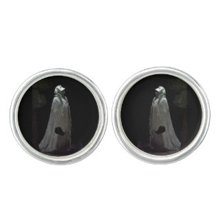 Gothic ghoul cuff links