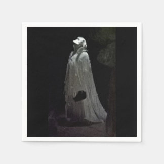 Gothic ghoul disposable napkin