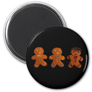 Gothic Gingerbread Man Magnet