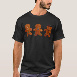 Gothic Gingerbread Man T-Shirt