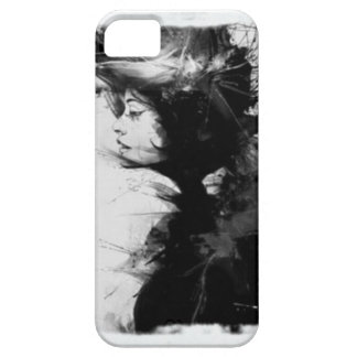 Gothic girl art iPhone 5 cover