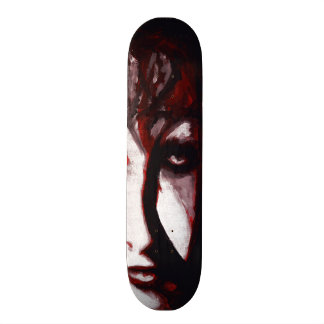 Gothic God Post Punk Goth Music Man Portrait Art 21.6 Cm Old School Skateboard Deck
