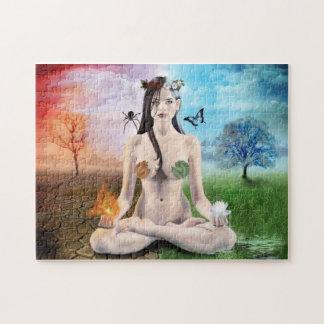 Gothic Goddess Jigsaw Puzzle