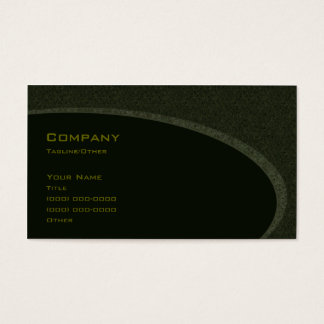 Gothic Green Business Card