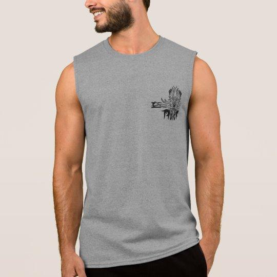Gothic Half Cross Sleeveless Muscle Tee Shirt Tank