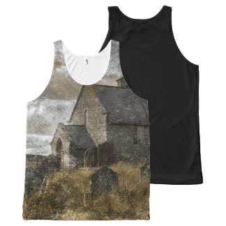 Gothic Halloween photograph All-Over Print Tank Top