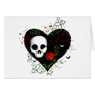 Gothic heart cards